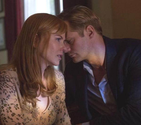 "Alexander Skarsgård opens up about those ""intense"" Big Little Lies scenes with Nicole Kidman"