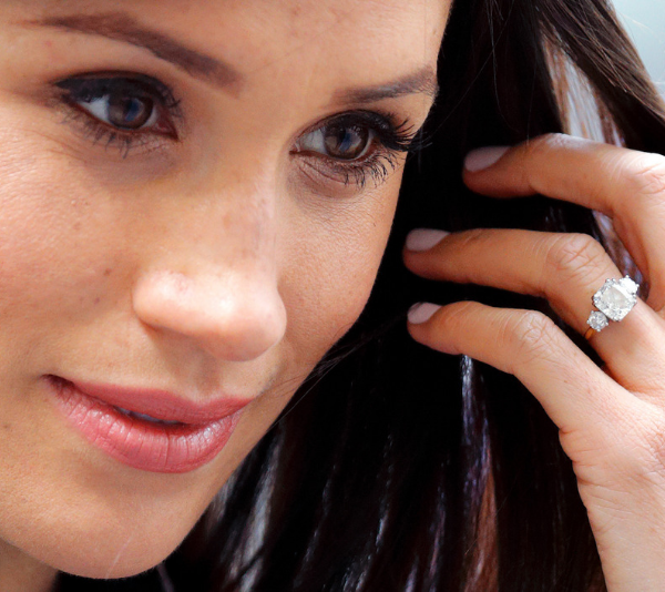 Duchess Meghan just made this change to her engagement ring and we didn't even notice