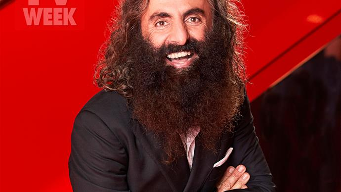 The idea of being a popular personality is growing on Gardening Australia host Costa Georgiadis