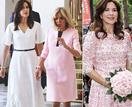 Oh là là! Crown Princess Mary puts on a stunning fashion-forward display as she touches down in Paris