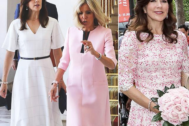 Oh là là! Crown Princess Mary puts on a stunning fashion-forward display as she touches down in Paris