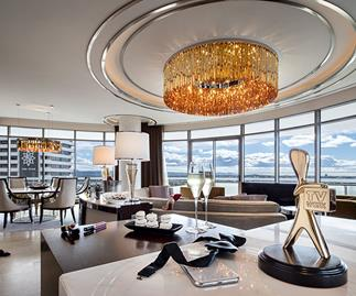 Inside the lavish $5000 per night suites where celebs will stay during the TV WEEK Logie Awards