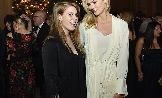 Spotted! Princess Beatrice lets her hair down at Karlie Kloss' wedding