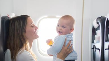 Should babies and kids be banned from flights?