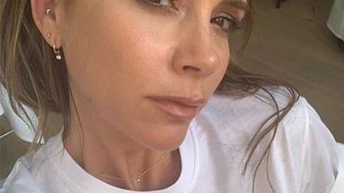 Victoria Beckham's new t-shirt reveals a heartfelt plea in her latest candid selfie