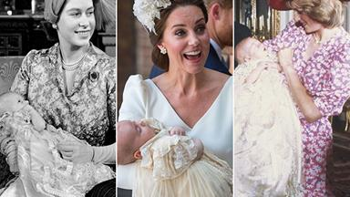 Archie's next! Take a look back at some of the most iconic royal christenings of all time