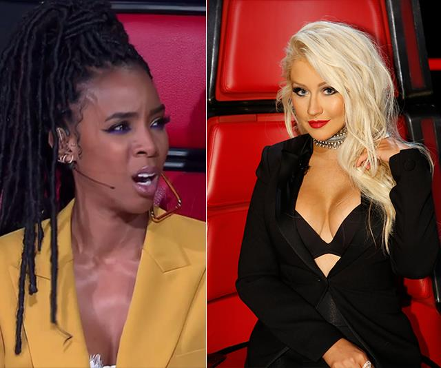 The Voice: Is Christina Aguilera replacing Kelly Rowland?