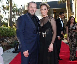 "Eve Morey admits she ""misses"" working alongside her Neighbours co-star Ryan Moloney"