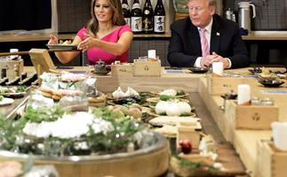 This is what Melania Trump eats in a day