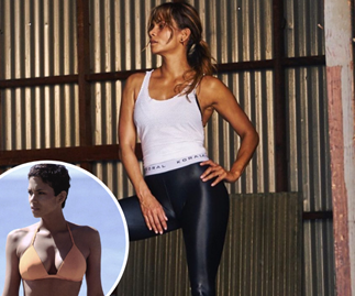 Halle Berry's gym-free, no equipment ab workout is perfect for busy women over 50