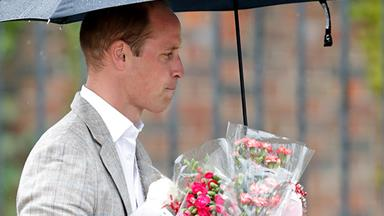 Prince William stuns fans with emotional surprise appearance at Diana vigil