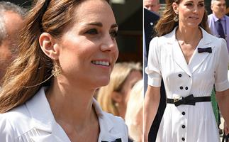Duchess Catherine ditches the Royal Box at Wimbledon for the public stands
