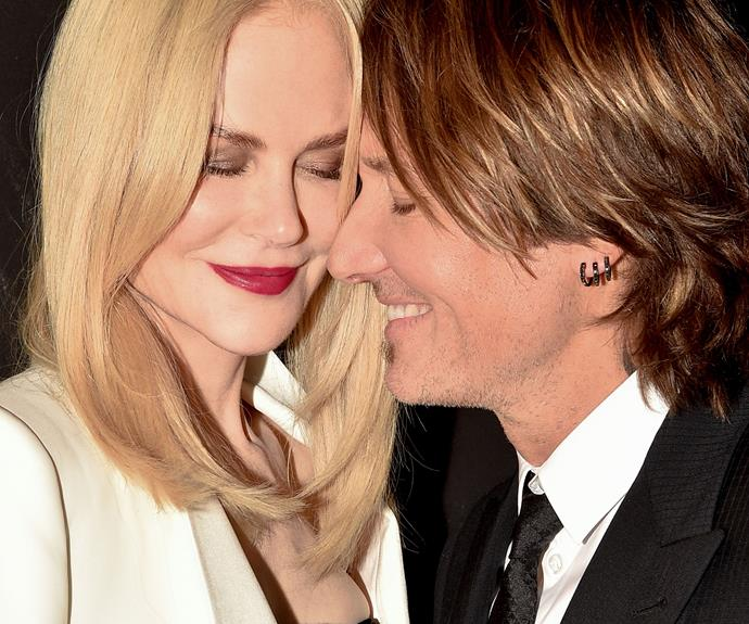 Nicole Kidman and Keith Urban's intimate kiss on the red carpet restores our faith in true love!