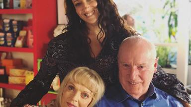 Home and Away's Georgie Parker shares heartfelt birthday tribute to Ray Meagher