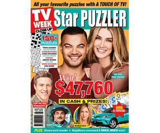 TV Week Close Up Star Puzzler Issue 3 Online Entry