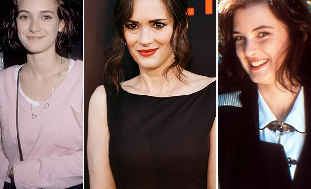 Winona Ryder's age-defying beauty transformation through the years