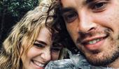 Jess Marais reunites with ex-boyfriend Jake Holly following her mother's death