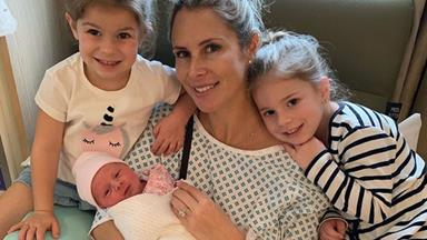EXCLUSIVE: Candice Warner reveals her terrifying experience giving birth to new daughter Isla Rose
