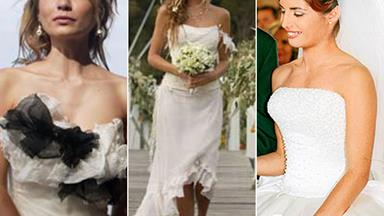 Bare-footed brides: Home and Away's most iconic wedding dresses over the years