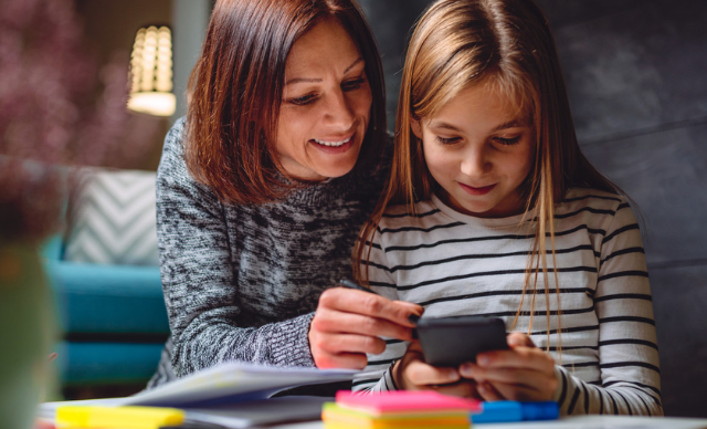 Stay connected with your kids by using these fun phone games to play as a family