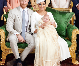 Archie is officially christened! See the incredible pictures from inside the royal ceremony