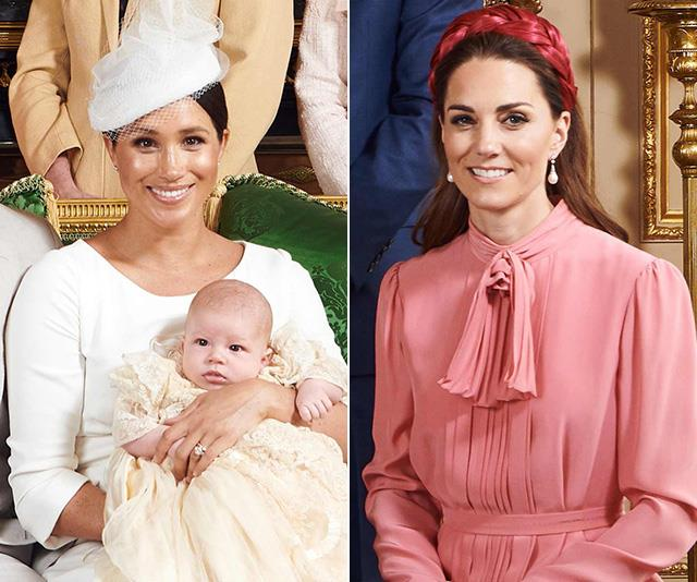 Meghan & Kate's christening outfits were radical in a brilliantly subtle way