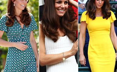 All the photos that prove Kate Middleton owns the world's greatest wardrobe of summer dresses