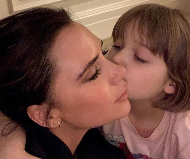 Victoria Beckham's latest photo of Harper Seven leaves fans divided