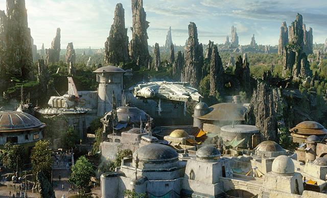 Star Wars: Galaxy's Edge.