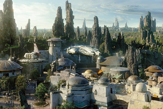 Star Wars: Galaxy's Edge.
