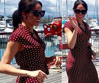Aussie women are going wild for this $25 version of Meghan Markle's polka dot dress