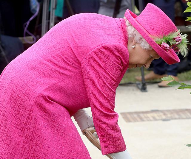 The incredible moment the Queen defied age by refusing help on an unlikely task