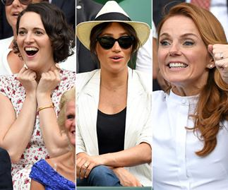 All the celebrities who are most definitely not keeping calm and carrying on at Wimbledon 2019
