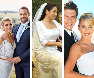 Home and Away's best ever weddings will melt your heart