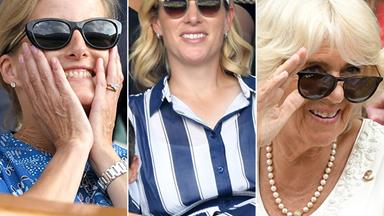Royal aces! Camilla, Zara and Sophie step out at Wimbledon in three glamorous outfits