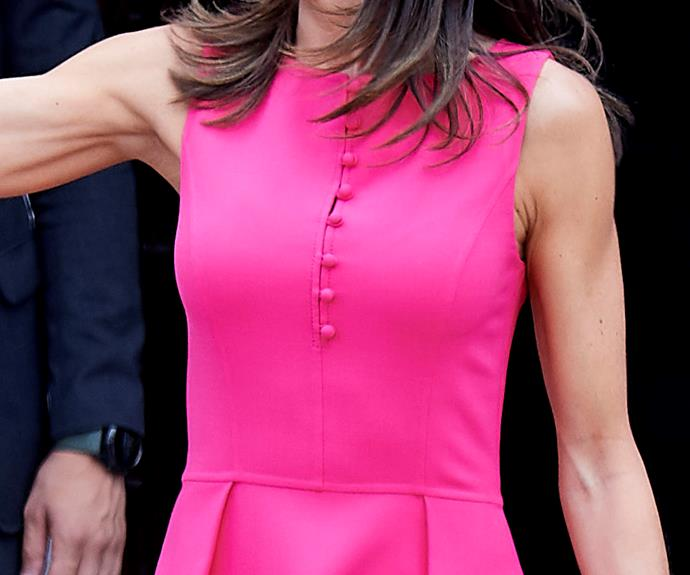 This unexpected royal style icon just stunned us all with her gorgeous bright dress