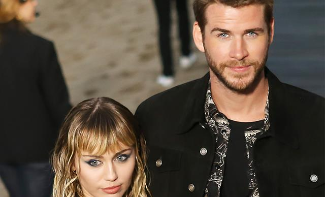 Is this the big clue that Miley Cyrus and Liam Hemsworth broken up?