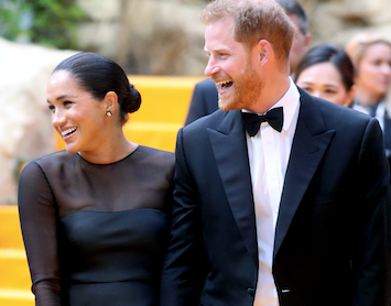 Duchess Meghan joins Beyoncé and Hollywood's A-list as she makes a stunning return to the red carpet - see all the pictures