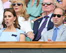Kate and Wills surprise fans with glorious appearance at Wimbledon men's final