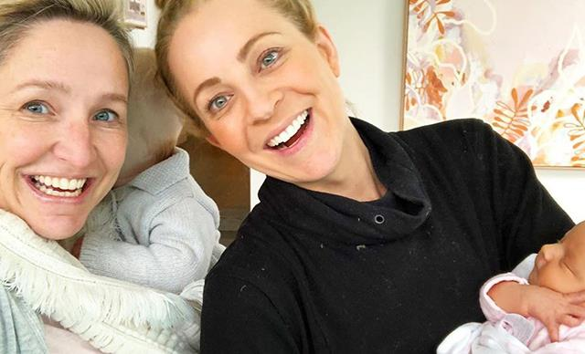 Carrie Bickmore, Fifi Box and their daughters just had the most adorable playdate