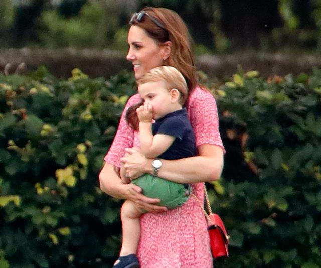Duchess Catherine received the sweetest gift for Prince Louis from a tennis legend