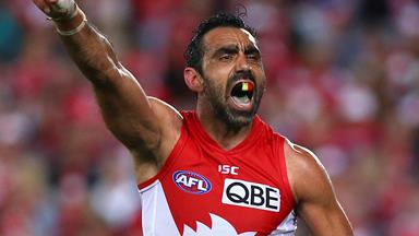 Watch the exact moment Adam Goodes was called an ape by a 13-year-old girl
