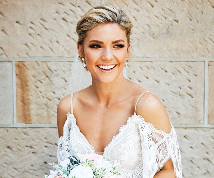 Life is imitating art for Sam Frost, whose on-screen wedding is influencing her real-life nuptials