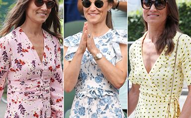All the photos that prove Pippa Middleton is our unsung fashion hero of summer dresses