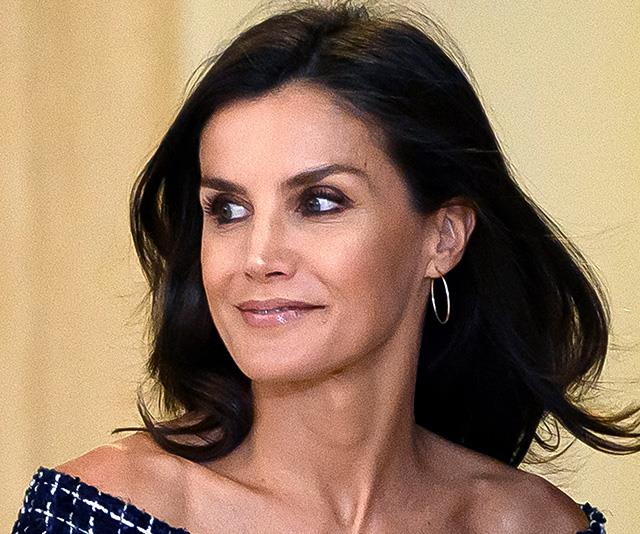 Queen Letizia just wore a $35 dress that looks like it came straight off a Chanel runway