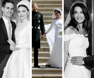 Stunning celebrity second weddings proving love can be better the second time around