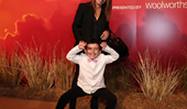 EXCLUSIVE VIDEO: You HAVE to watch the moment Ada Nicodemou's son Johnas steals the spotlight at The Lion King premiere