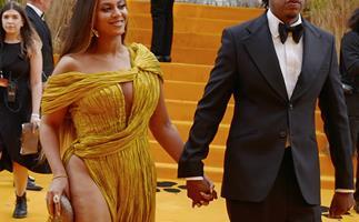 Did you spot it? Beyoncé made a sneaky tweak to her daring dress before meeting Meghan Markle