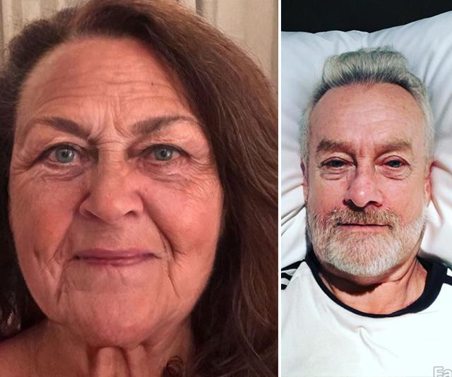 The FaceApp old filter challenge has totally transformed these celebrities