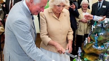 Duchess Camilla celebrated her birthday with the most extravagant cake we've ever seen